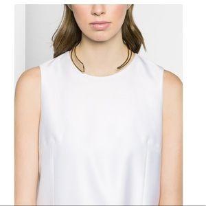 NWT BaubleBar Eve Asymmetrical Collar